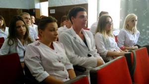 Встреча руководства больницы с врачами-интернами