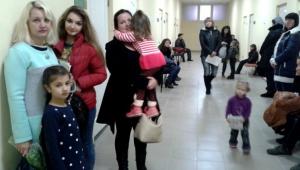 Первый день работы детской поликлиники на основной базе больницы
