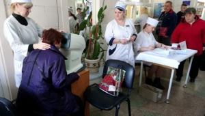 В лікарні Тропіних пройшла акція-скринінг щодо виявлення глаукоми: проаналізовано результати